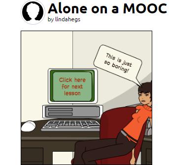 Alone on a MOOC